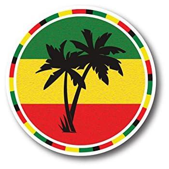 Amazon com: BOB MARLEY REGGAE JAMAICA sticker decal 4