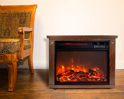 Lifesmart Infrared Quartz Fireplace