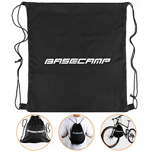 Basecamp Specialized Bike Helmet with CPSC&CE Certified/Safety Light/Removable Visor/Protable Backpack,Adjustable Cycling/Bicycle Helmet for Road/Mountain Men/Women (Helmet Accessories-Backpack)