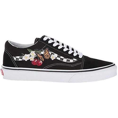 Vans Unisex Old Skool Checker Floral Black Sneaker - 8.5