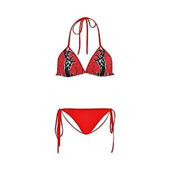 Artsadd Zombie Outbreak Custom Women Bikini Swimsuit