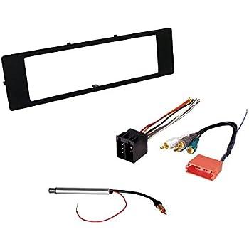 amazon com stereo install dash kit audi tt coupe 00 01 02 03 2000 Audi TT Carbon Dash Kits audi car stereo radio kit dash installation trim bezel with bose wiring harness