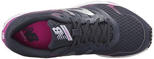New Balance Women's W590V5 Running Shoe, Grey/Pink, 12 B US