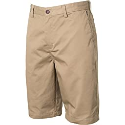 Billabong Men\'s Carter Shorts, Dark Khaki, 31