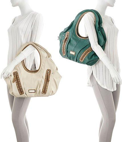 b6b436747676 Buy Vitalio Vera Liliana Teal Green Oversize Hobo Handbag Online at Low  Prices in India - Amazon.in