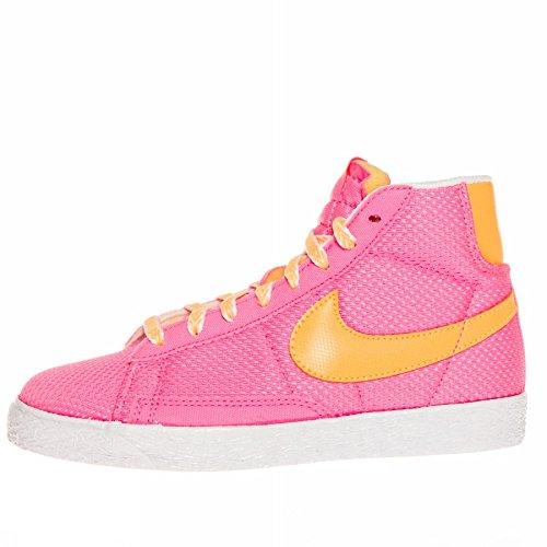 Nike Blazer Mid Vintage (PS) Schuhe pink glow-atomic mango-white - 31
