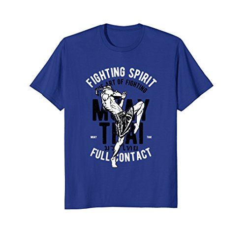 Full Contact Fighter T-shirt - Fighting Spirit (Full Contact) Muay Thai Combat T-Shirt