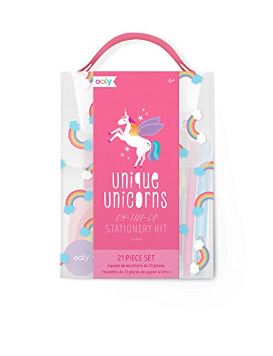 Stationery For Kids (OOLY, Gift Set Unique Unicorns Stationery Kit with)