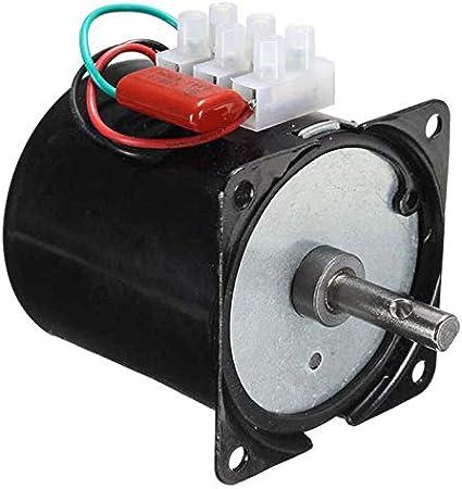 Amazon.com: Fetcus 110VAC /25w/2.5 rpm-100rpm Bajo Ruido ...