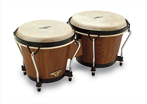 CP221DW Dark Wood Bongos by Latin Percussion