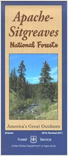 Map: Apache-Sitgreaves National Forest: Forest Service ...