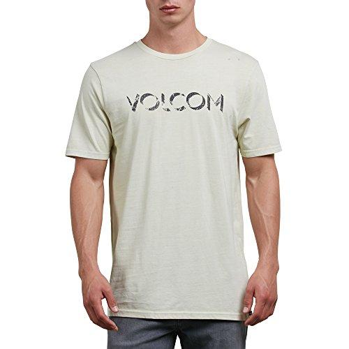Volcom Men's Shadow Block Short Sleeve Tee, Clay, XL