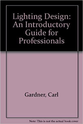 lighting design an introductory guide for professionals amazon co