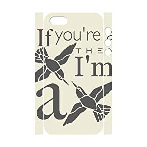 Cool Painting Bird Brand New 3D Cover Case for Iphone 5,5S,diy case cover case567678