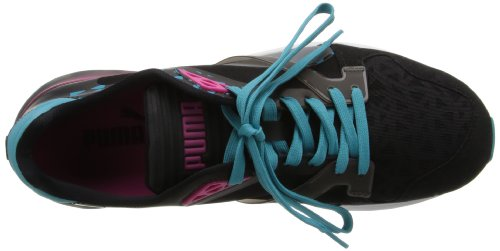 Puma Future Xt-corredor translúcido zapatilla de deporte Black / Beetroot Purple / Bluebird