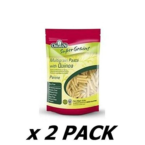 ORGRAN - Gluten Free Multigrain Penne Pasta with Quinoa - Gluten Free 250g (2 Pack)