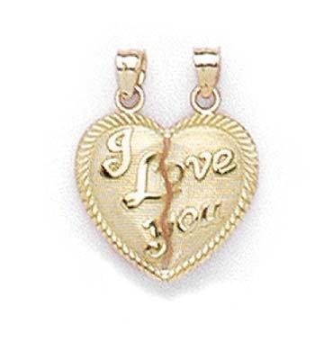 14 carats-Break-Apart-I Love You-JewelryWeb
