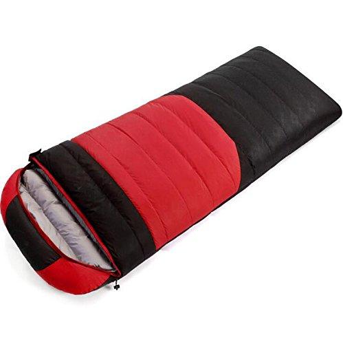 rouge noir 2500 grams of cashmere Z&HX sportsSacs de Couchage pour Adultes Sachet de d¨¦jeuner enveloppes Sacs de Couchage Sac de Couchage de Canard Blanc