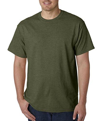 Sunset Green T-shirt (Gildan Men's Heavy Cotton)