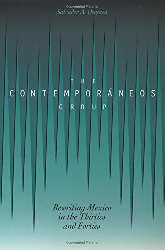 The Contemporáneos Group: Rewriting Mexico in the Thirties and Forties ebook