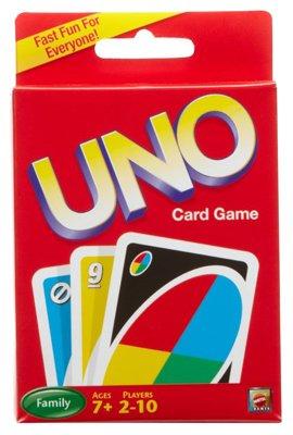 Mattel 42003 Uno Card Game