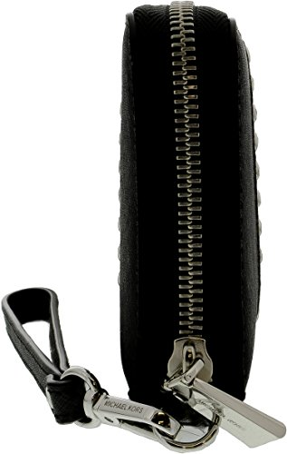 Michael Kors Money Pieces Travel Continental Wallet Black Leather by Michael Kors (Image #1)