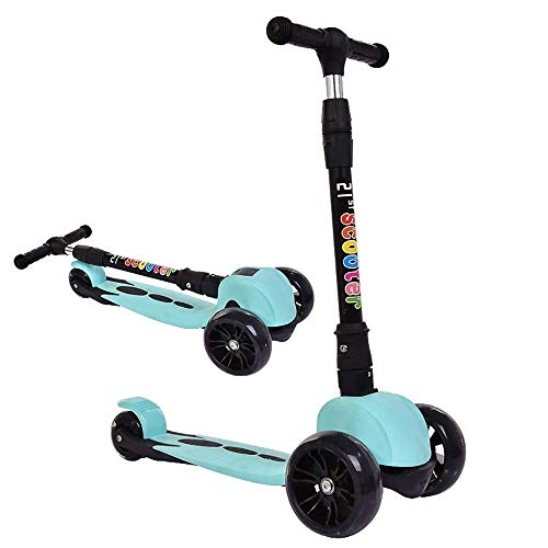 AIOJY Stunt Scooters,3 Wheel Scooter, Kick Scooter, Adjustable Height Kids Scooter with LED Light Up Flashing Wheels for Children 3 to 10 Years Old,Child Scooter,Toddler Scooter (Razor Kix Scooter)