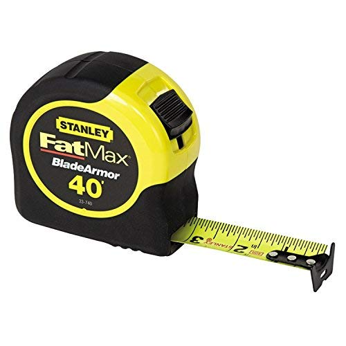 Stanley Hand Tools 33-740L 40' FatMax Tape Rule