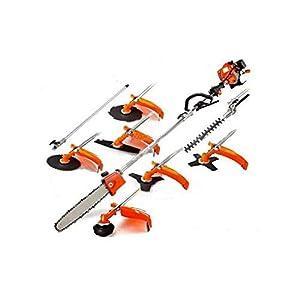CHIKURA Professional Garden Tool Trimmer Cutter Brush Cutter 8-1 Lawn Mower Grass Trimmer Tree Pruner