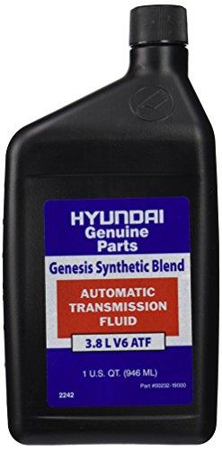 Hyundai Transmission - Genuine Hyundai Fluid 00232-19016 Automatic Transmission Fluid - 1 Quart