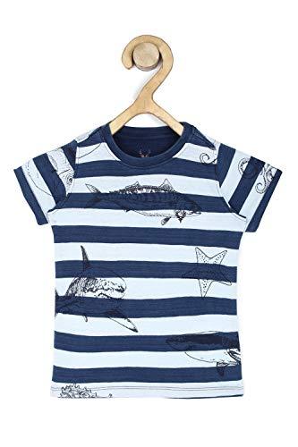 Allen Solly Junior Boy's Floral Regular fit T-Shirt