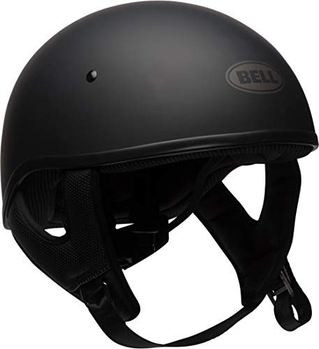 Bell Helmets Drop - Bell Pit Boss Sport Open-Face Motorcycle Helmet (Solid Matte Black, Large)
