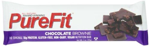 PureFit Питание Бар, шоколад Домовой, 2 унции Бары (в упаковке 15)