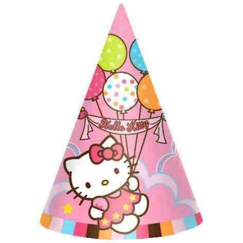 Party Hats | Hello Kitty Collection | Party Accessory | 48 Ct.