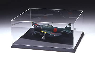 Tamiya Display Goods Series No.10 Display case H 1/32 Aircraft Model Acrylic (Wooden Pedestal) W350 D350 H135mm (Inside Dimension) 73010 Display Case