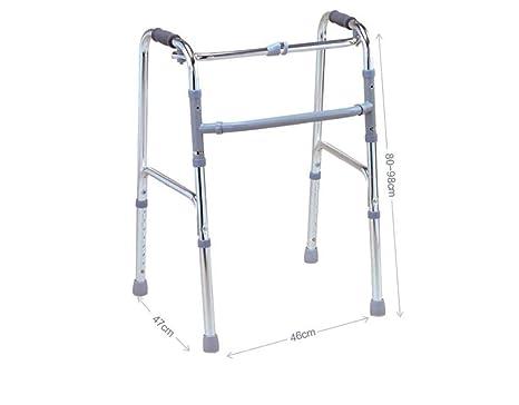 L-Y Silla de Mimbre para Caminar - Andador de Aluminio ...