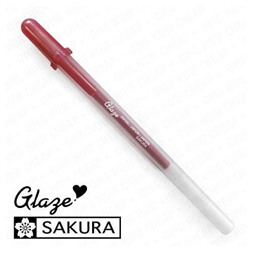 Sakura Glaze - 3D Glossy Bold Roller Pen - 3 Pack - Real Red #822]()