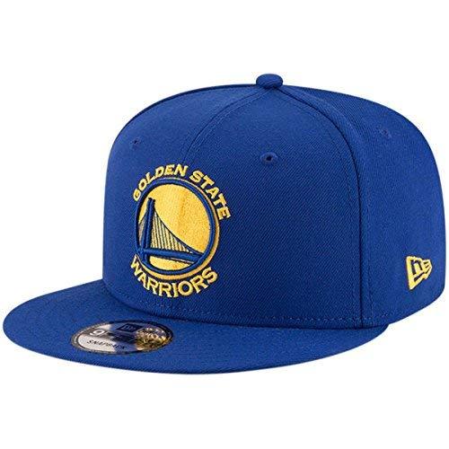 New Era NBA Golden State Warriors Adult Men NBA 9Fifty Team Color Basic Snapback Cap,OSFA,Royal