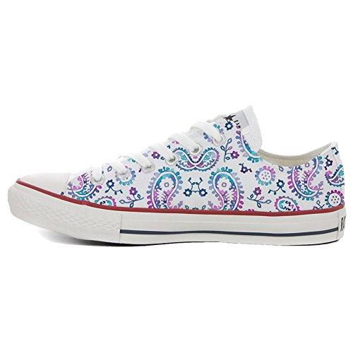 unisex Personnalisé Sneaker Watercolor All Italien Imprimés et artisanal Low Converse Star produit 0F6TxwnE1