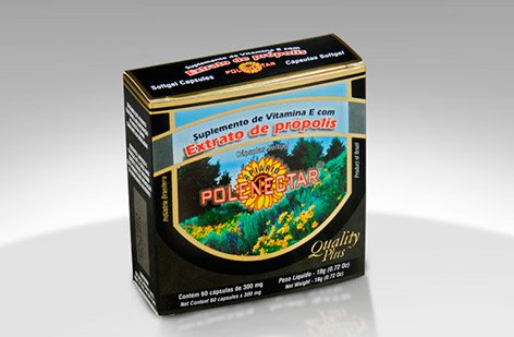 4 Pack of Polenectar Brazil Green Bee Propolis 60 Softgels 300mg - New Packaging Starting From 2015