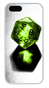 Green Crystal Ball girly iphone 5S covers PC White for Apple iPhone 5/5S