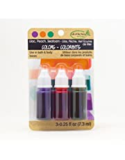 Life Of The Party Colors .75oz 3/Pkg-Lilac, Peach and Seafoam