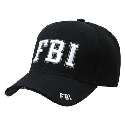 Delux Military Law Enforcement Cap Hat- FBI
