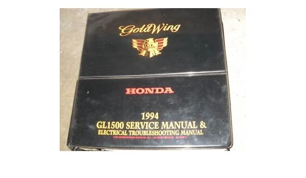 1994 honda gold wing gl1500 service shop manual oem honda amazon