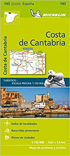 Mapa Zoom Costa de Cantabria (Mapas Zoom Michelin): Amazon.es: Vv.Aa, Vv.Aa: Libros