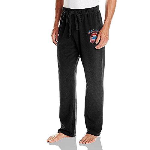 Rolling Stone Man Long Pants Tracksuit Bottoms USA Cotton -