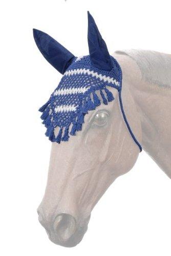 Outdoor Sports PURPLE FRINGE CROCHET FLY VEIL BONNET FRINGE HORSE SIZE