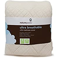 Ultra-Breathable Crib Mattress Cover - Crib Fitted
