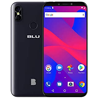 "BLU Studio Mega 2018-6.0"" HD Unlocked Smartphone with Dual Main Camera -Black"