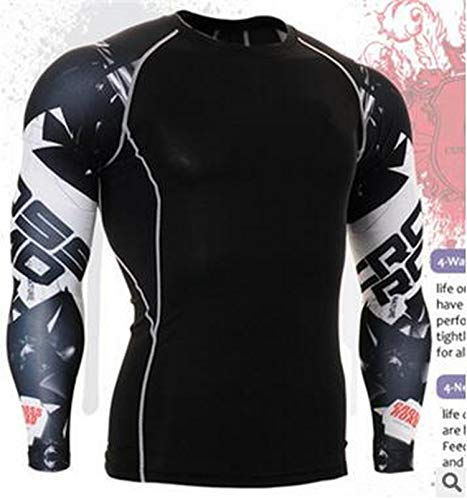 New Men Thermal Underwear Sets Compression Fleece Sweat Quick Drying Thermo Underwear Men Clothing Long,Pink,S ()